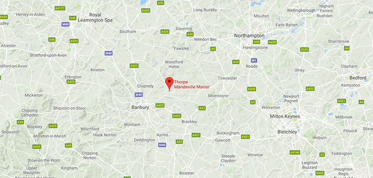 Thorpe Manor - Location
